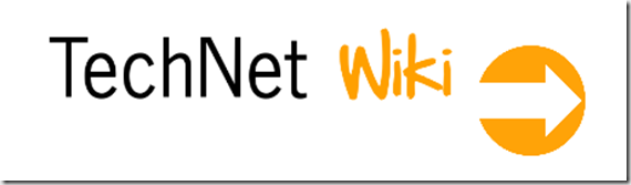 TechNet Wiki_Orange